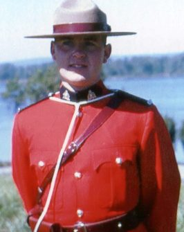 Larry Chanda in RCMP uniform