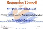 recognition-award-from-the-bay-area-restoration-council-1991