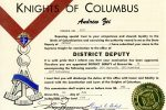 notice-of-zeis-promotion-to-district-deputy-as-part-of-the-knights-of-columbus