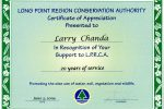 certificate-of-appreciation-from-long-point-region-conservation-authority-2009