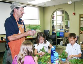 WHAM Camp Kids Gardening
