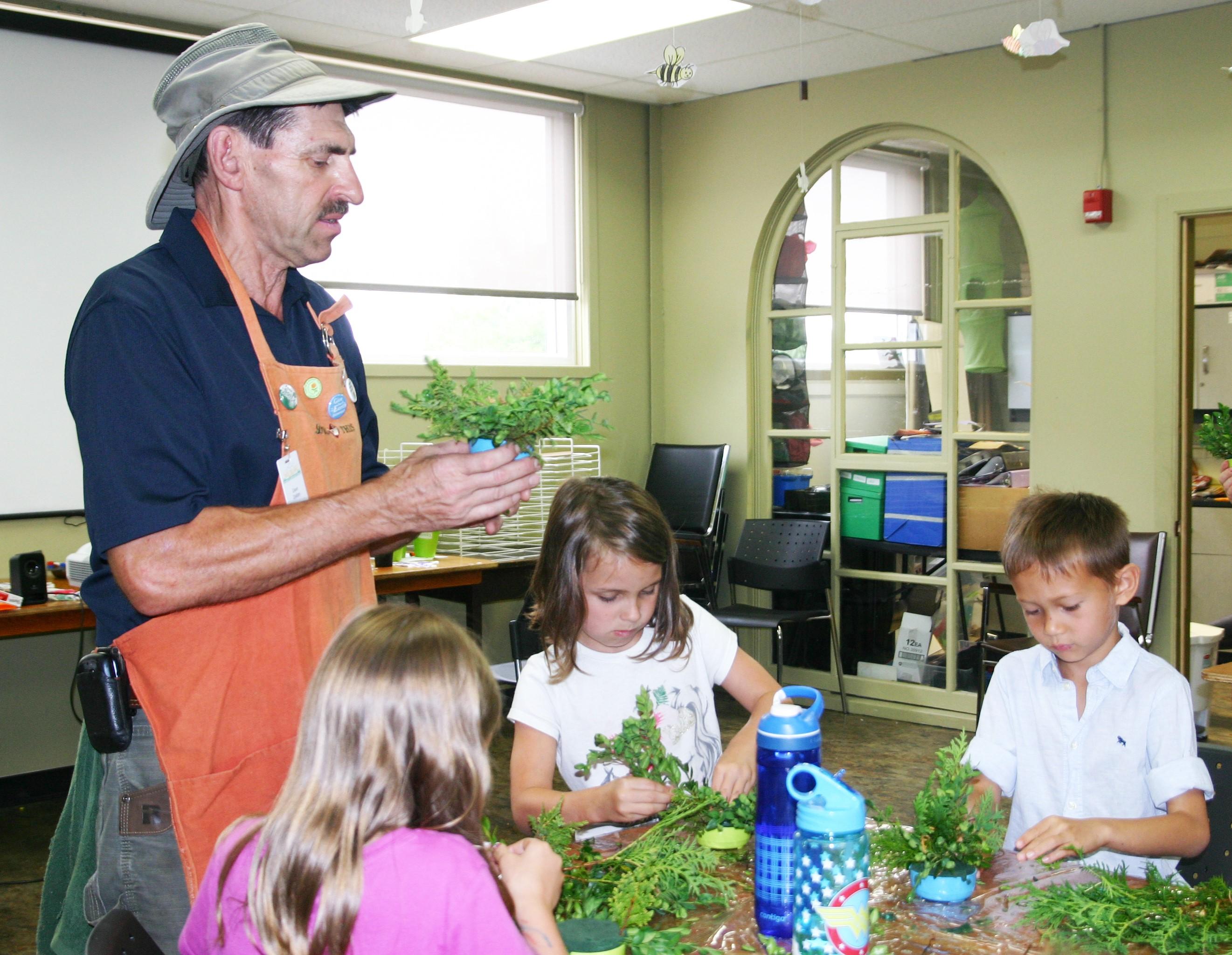 WHAM Camp Kids Gardening