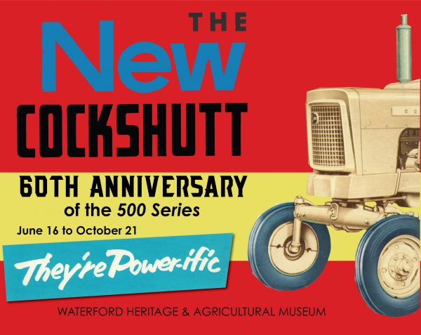 The New Cockshutt Exhibit Poster