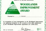 woodland-improvement-award-presented-to-vogelzang-by-the-ministry-of-natural-resources-1991