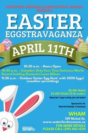Easter Eggstravaganza Event Details Poster